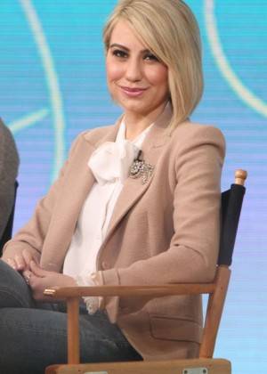 Chelsea Kane at Good Morning America in New York