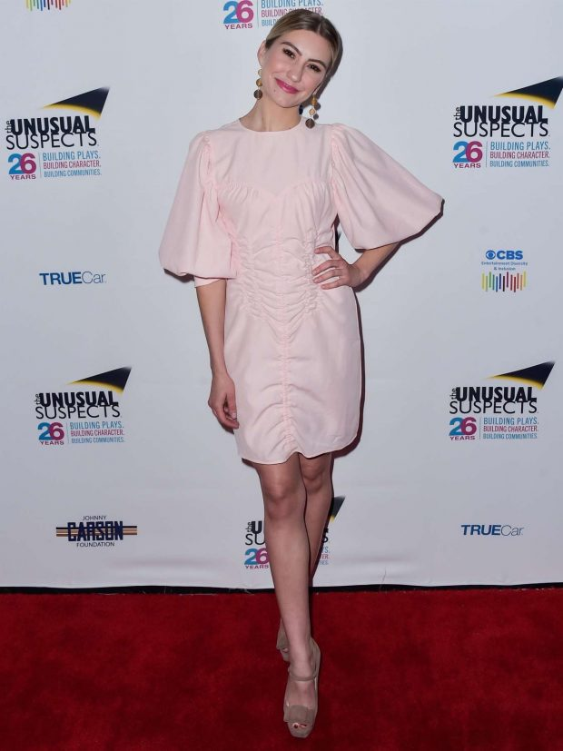 Chelsea Kane - The Unusual Suspects Theatre Company's 11th Annual Gala in Hollywood