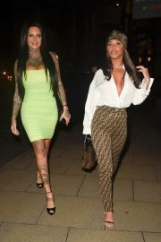 Chelsee Healey and Jemma Lucy - Night out at Rosso Restaurant in Manchester