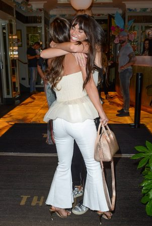 Chelsee Healey and Jennifer Metcalfe - Night out at The Ivy in Manchester