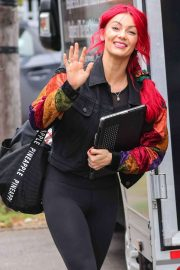 Chelsee Healey - Arrives for rehearsals for the 2019 series of Strictly Come Dancing in London