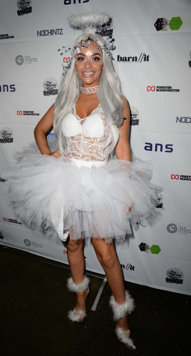 Chelsee Healey - Halloween Spooktacular Ball in Manchester