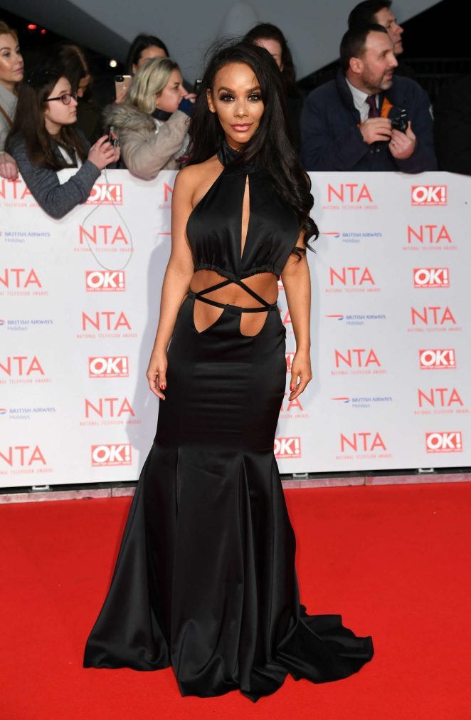 Chelsee Healey - National Television Awards 2018 in London
