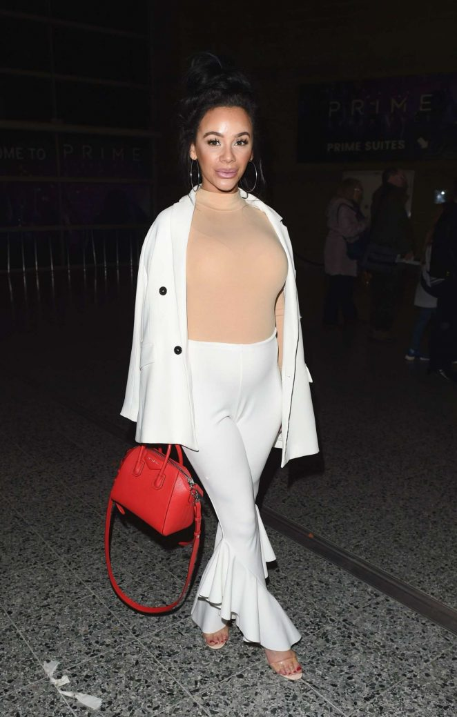 Chelsee Healey out in Manchester