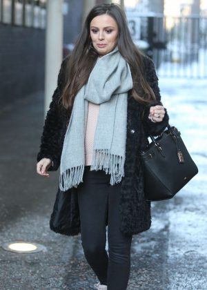 Cher Lloyd at ITV Studios in London