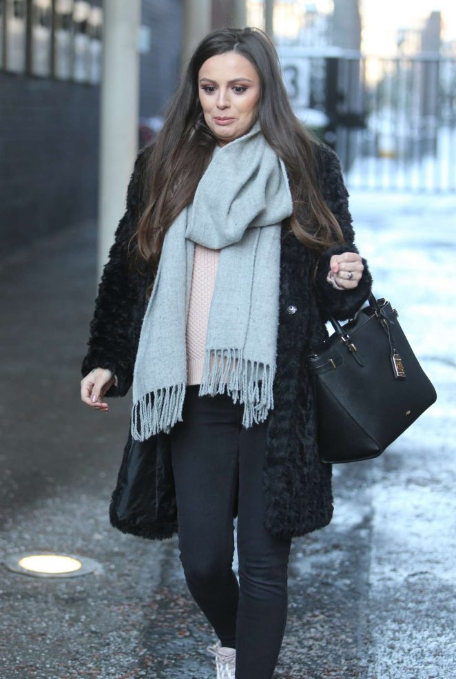 Cher Lloyd at ITV Studios in London
