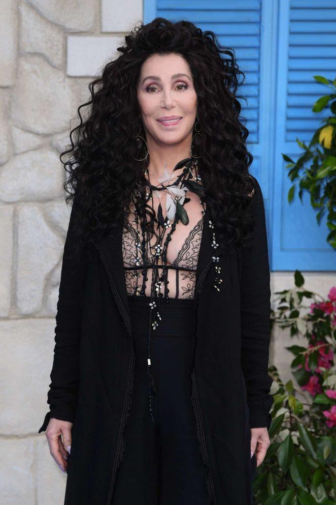 Cher - 'Mamma Mia! Here We Go Again' Premiere in London