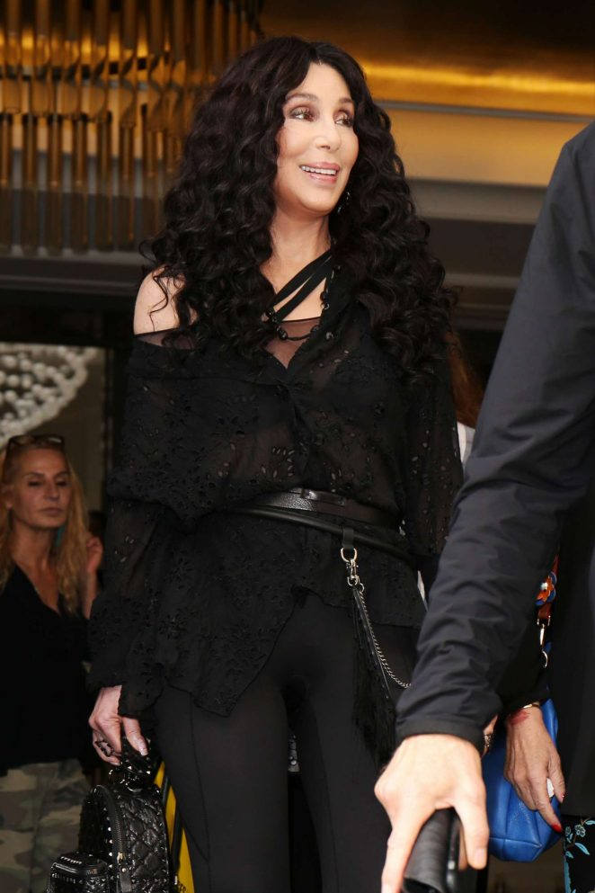 Cher - Out and about in London