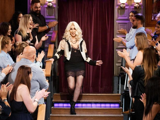 Cher - 'The Late Late Show with James Corden' in New York