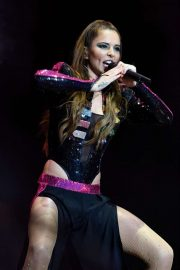 Cheryl Ann Tweedy performing live at the Manchester Pride