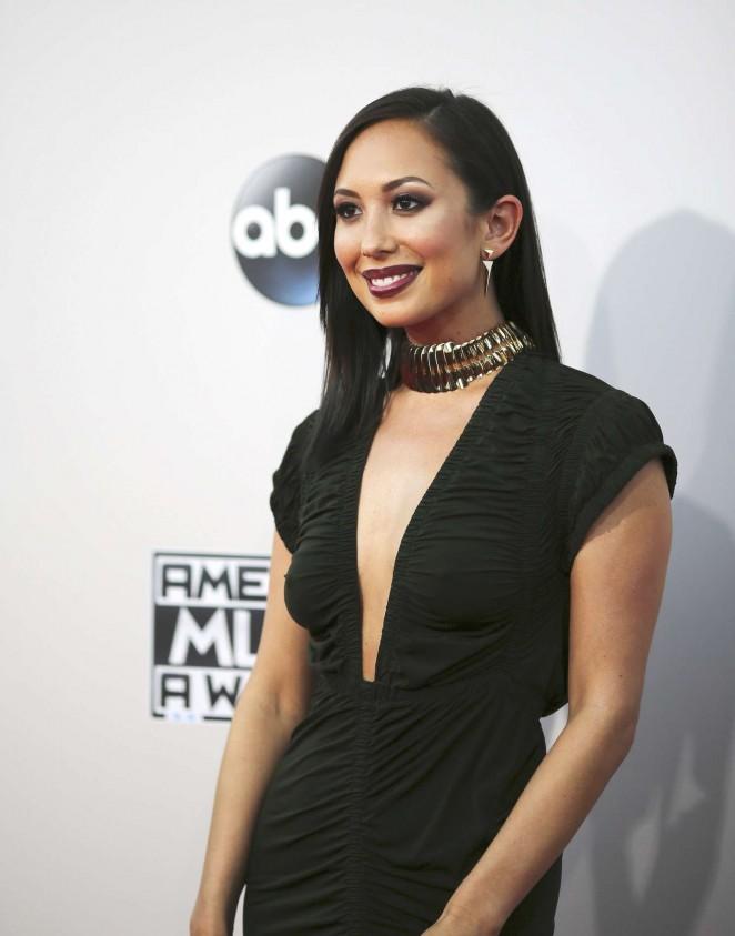 Cheryl Burke – 2015 American Music Awards in Los Angeles