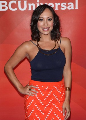 Cheryl Burke - 2015 NBC New York Summer Press Day in NYC