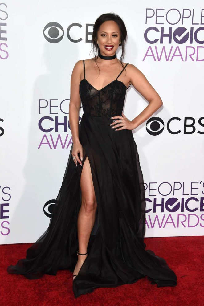 Cheryl Burke - 2017 People's Choice Awards in Los Angeles
