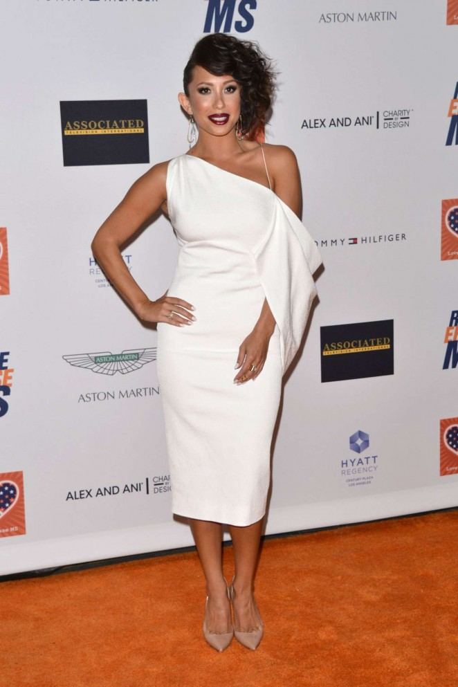 Cheryl Burke - 2015 Race To Erase MS Event in Century City