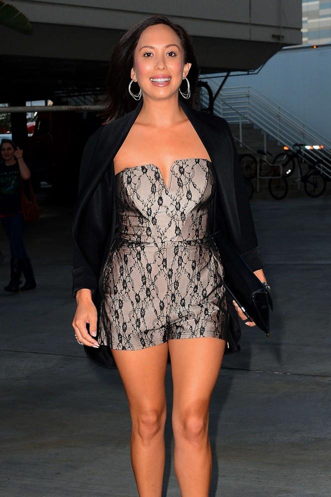 Cheryl Burke – Arriving at the Taylor Swift concert in LA