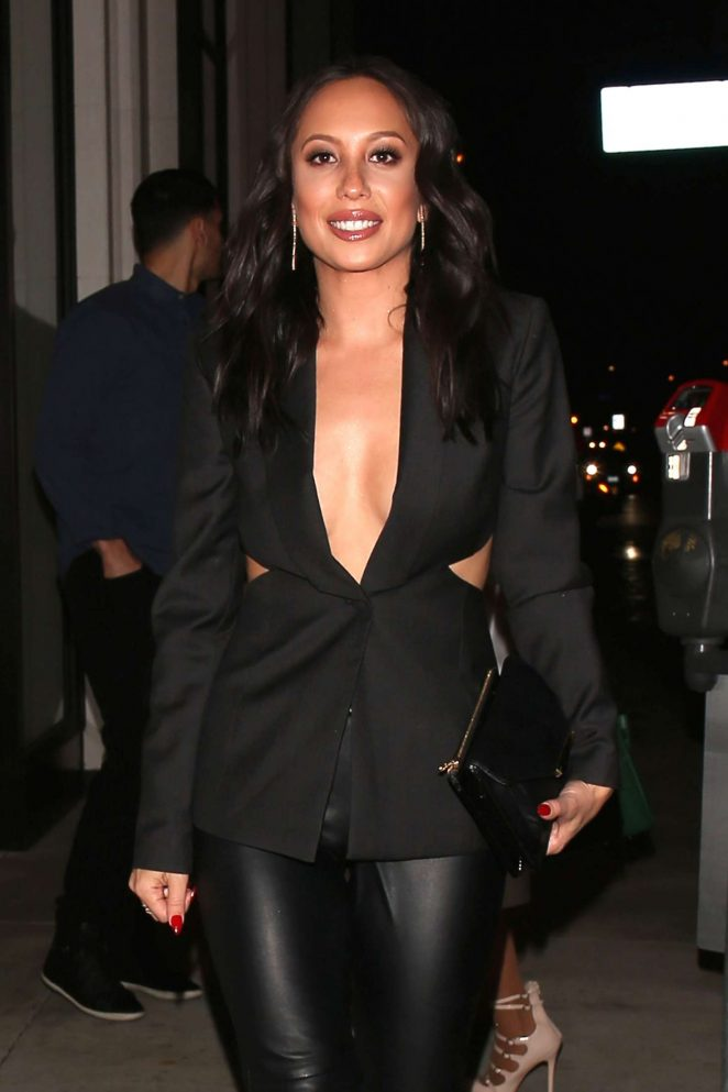 Cheryl Burke at Catch LA in West Hollywood
