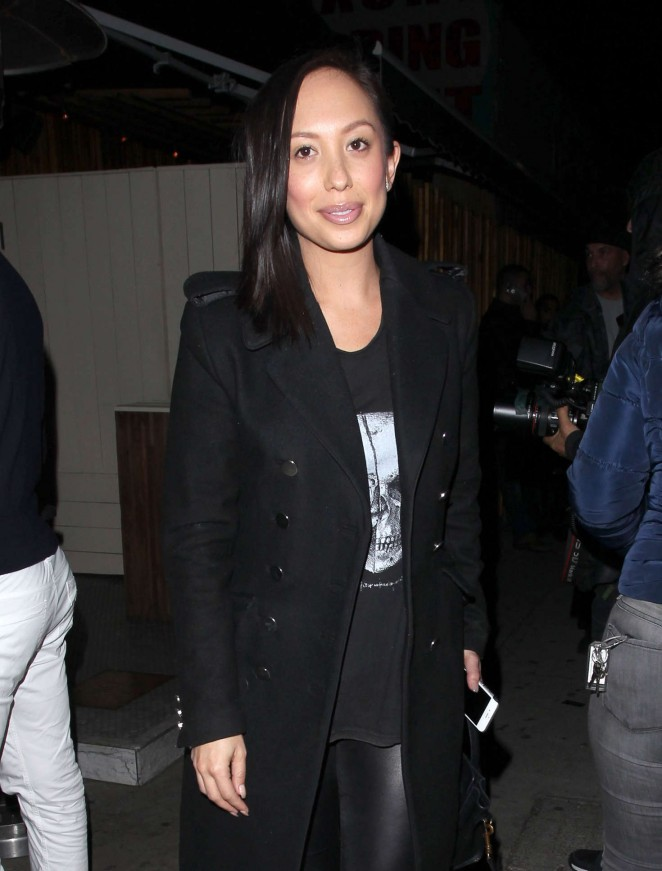 Cheryl Burke at The Nice Guy in West Hollywood