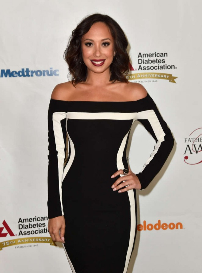 Cheryl Burke - Chapter Of The American Diabetes Association Father of the Year Awards in Beverly Hill
