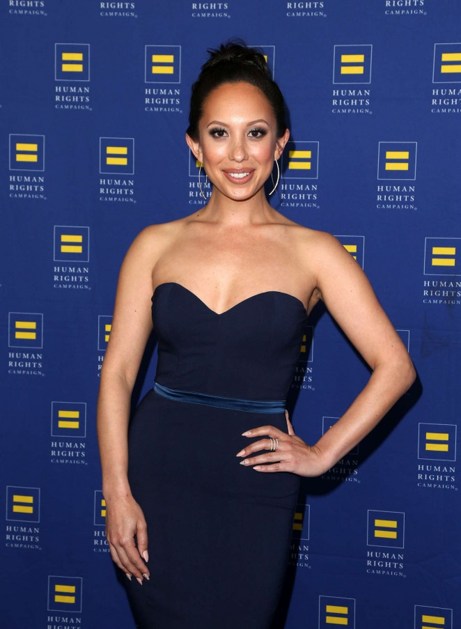 Cheryl Burke - Human Rights Campaign 2016 Gala Dinner in Los Angeles