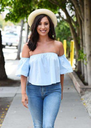 Cheryl Burke in Jeans out in LA