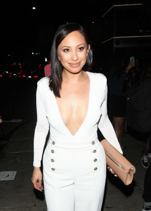 Cheryl Burke - Leaves The Nice Guy Club in West Hollywood