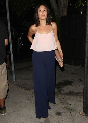 Cheryl Burke - Leaving The Nice Guy in West Hollywood
