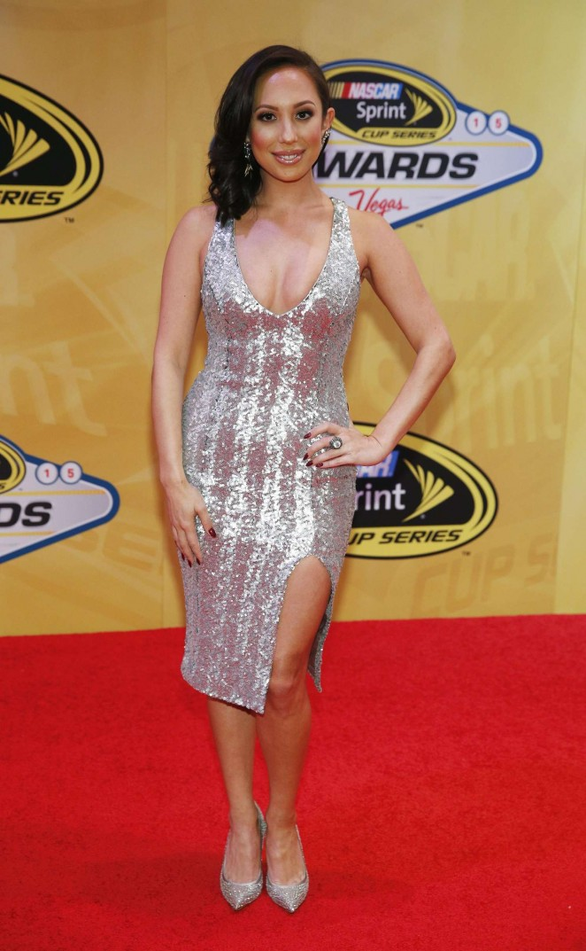 Cheryl Burke - NASCAR Sprint Cup Series Auto Racing Awards in Las Vegas