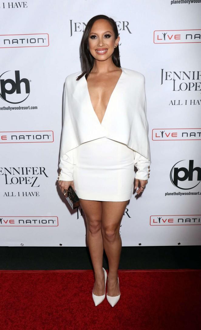 Cheryl Burke – Opening night of Jennifer Lopez's 'All I Have' Residency in Las Vegas