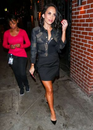 Cheryl Burke - Outside the Abbey Nightclub in West Hollywood