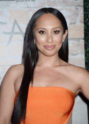 Cheryl Burke - TAO Group LA Grand Opening Block Party in Hollywood