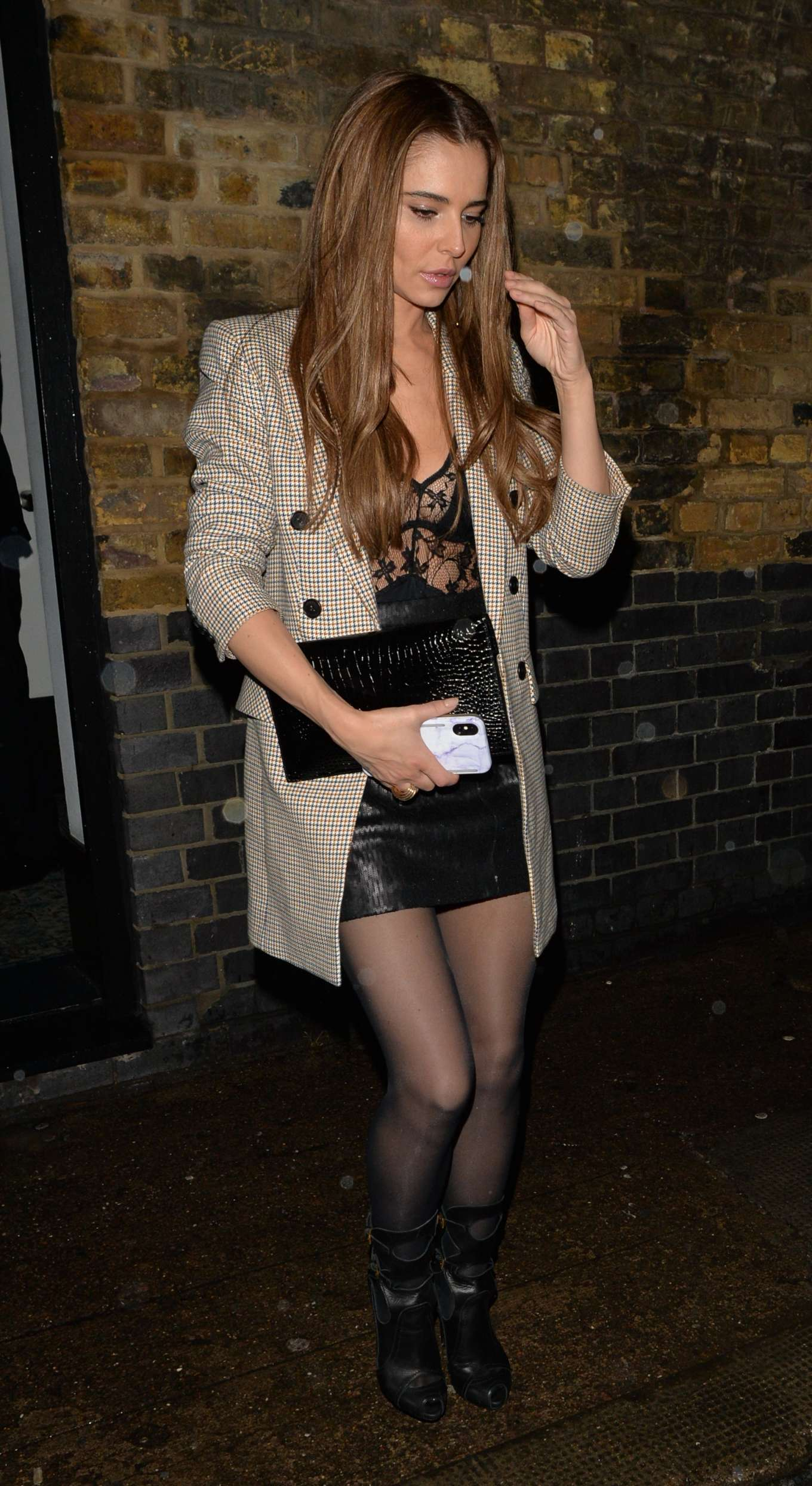 Cheryl Cole - Leaving Chiltern Firehouse in London
