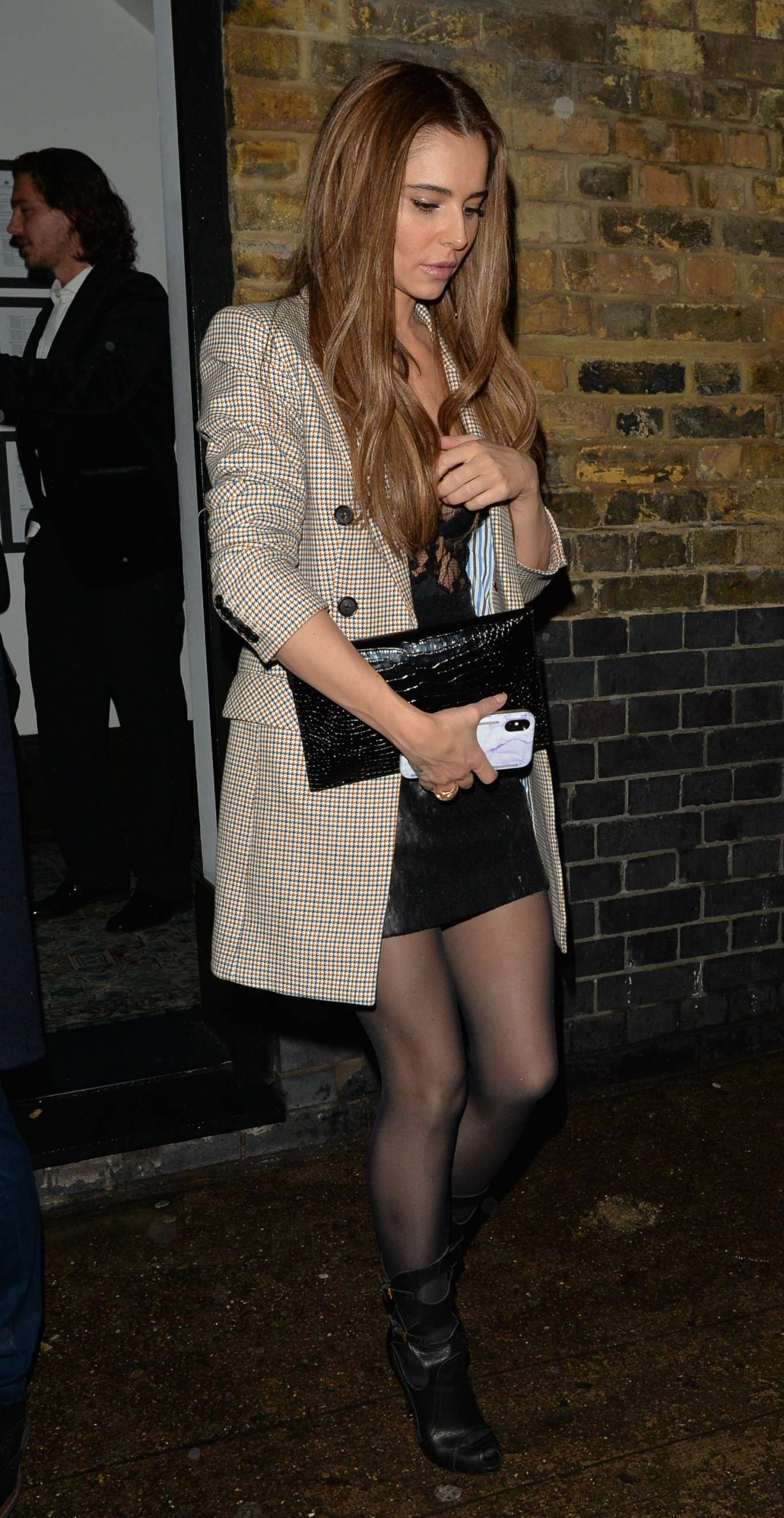 Cheryl Cole 2019 : Cheryl Cole – Leaving Chiltern Firehouse-09