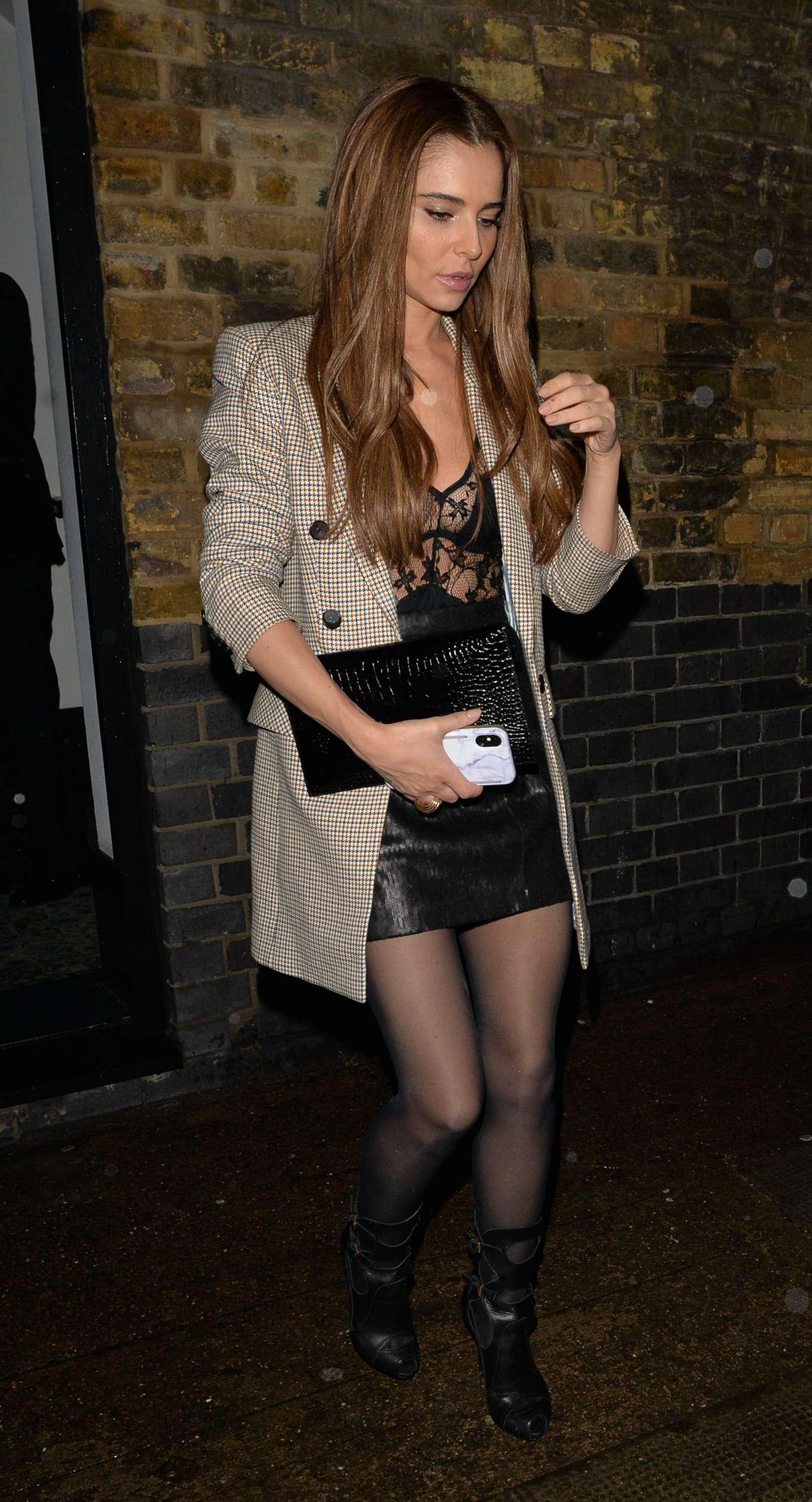 Cheryl Cole 2019 : Cheryl Cole – Leaving Chiltern Firehouse-10