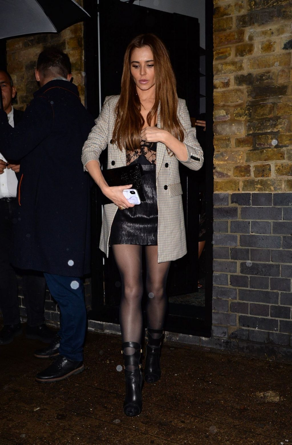 Cheryl Cole - Spotted at The Chiltern Firehouse in London