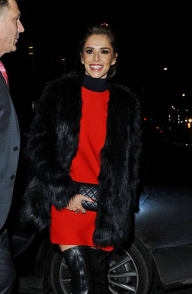 Cheryl Fernandez-Versini - Arrives at Sexy Fish Restaurant in London