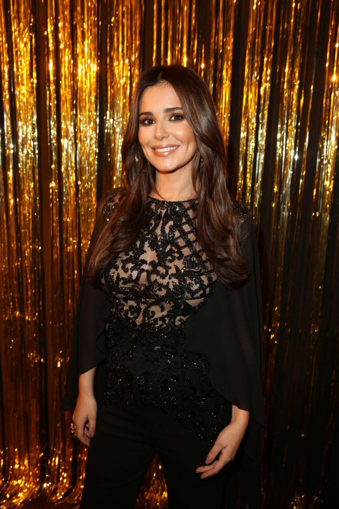 Cheryl Fernandez-Versini - L'Oreal Gold Obsession Party 2016 in Paris