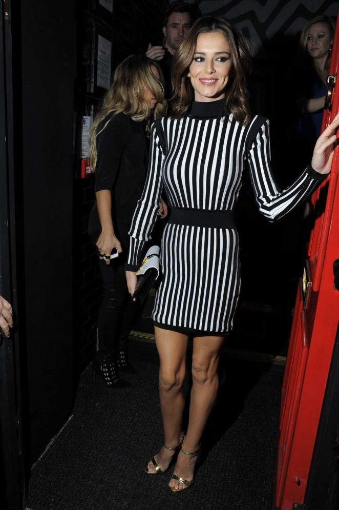 Cheryl Fernandez-Versini - Nicola Roberts Birthday Party in London