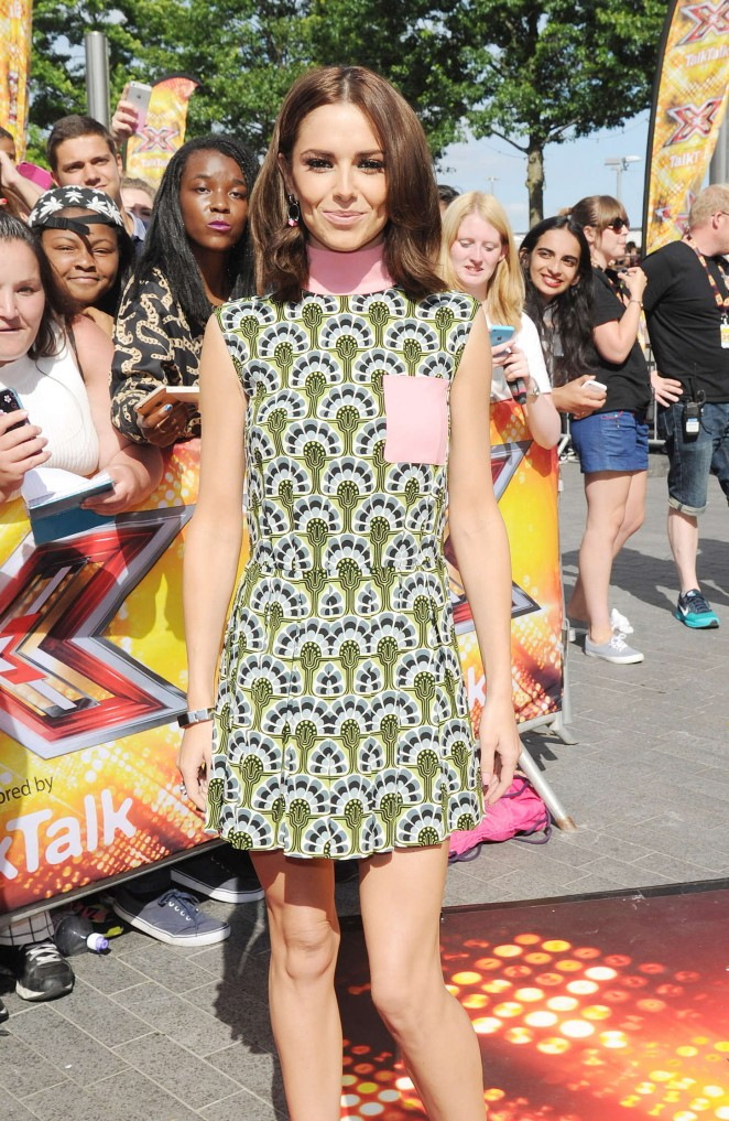Cheryl Fernandez-Versini - 'X Factor' Auditions in London