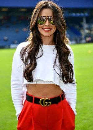 Cheryl Tweedy and Nicola Roberts - GAME4GRENFELL charity football match - London