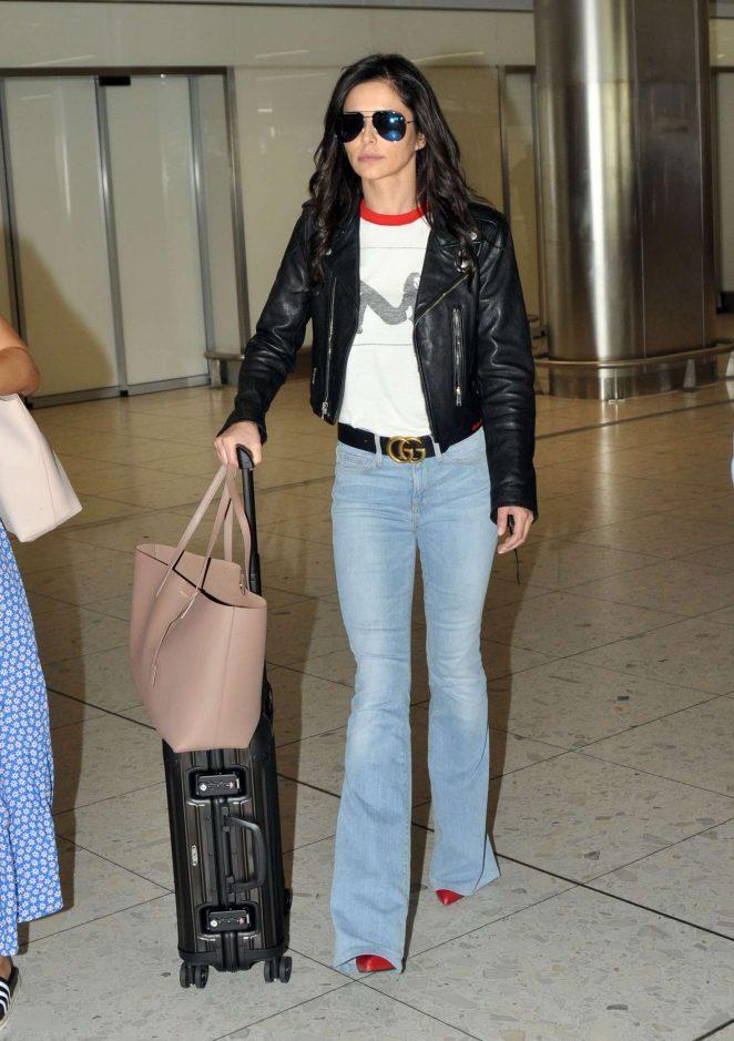 Cheryl Tweedy - Arrives at Dublin Airport