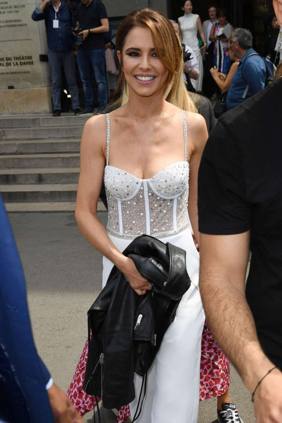 Cheryl Tweedy - Arrives at Georges Hobeika Couture Fashion Show in Paris