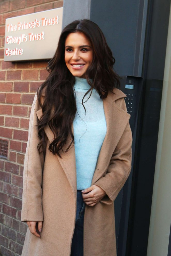 Cheryl Tweedy - Arrives at The Prince's Trust Cheryl's Trust Centre in Newcastle
