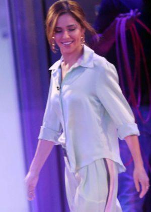 Cheryl Tweedy at BBC One Show in London