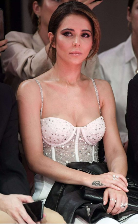 Cheryl Tweedy - Georges Hobeika Couture Fashion Show in Paris
