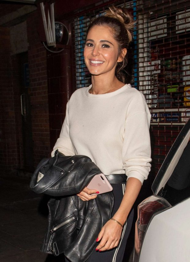 Cheryl Tweedy - Night Out in Mayfair