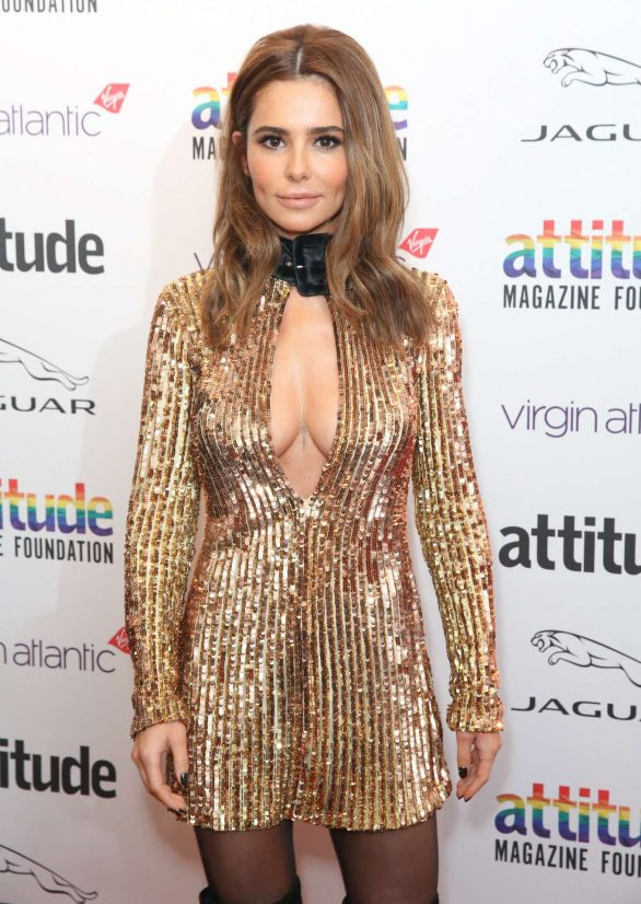 Cheryl Tweedy - Virgin Atlantic Attitude Awards powered by Jaguar 2019 in London