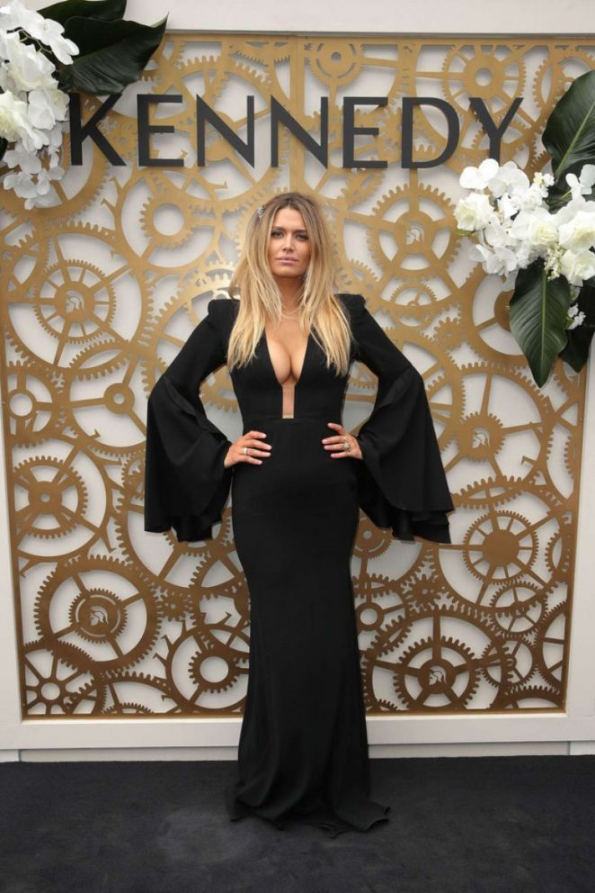 Cheyenne Tozzi - Flemington Racecourse Derby Day in Melbourne