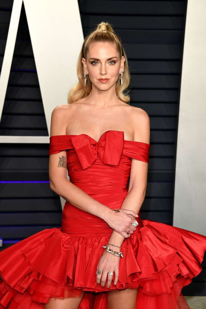Chiara Ferragni - 2019 Vanity Fair Oscar Party in Beverly Hills