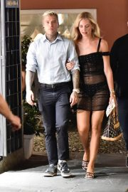 Chiara Ferragni and Fedez were seen in Portofino