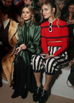 Chiara Ferragni and Olivia Palermo - Fendi Show at MFW 2017 in Milan
